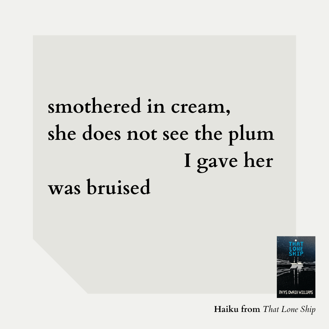 smothered in cream, she does not see the plum I gave her was bruised